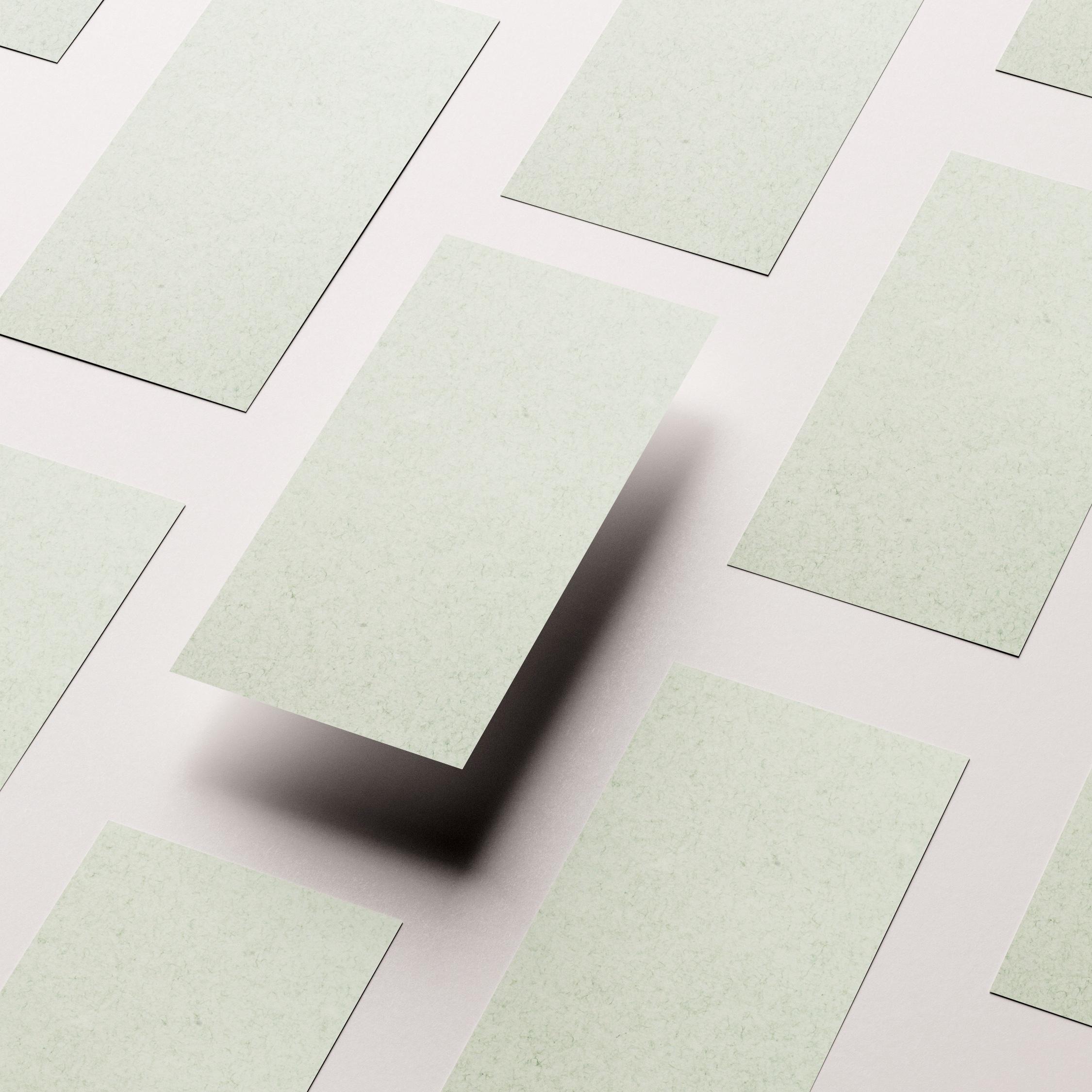papel ecologico verde
