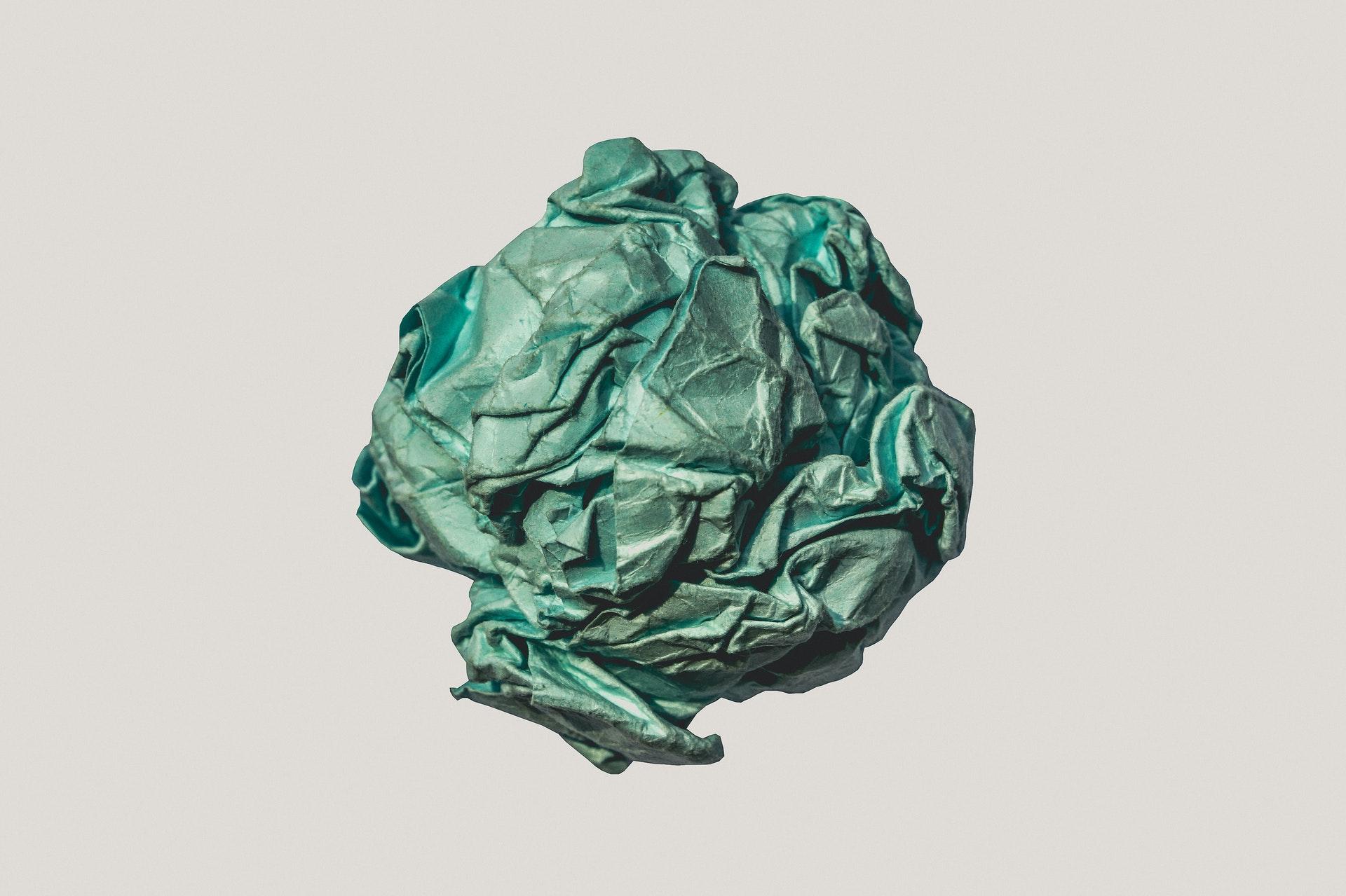 Cómo se hace el papel ecológico de algodón. Paso a paso