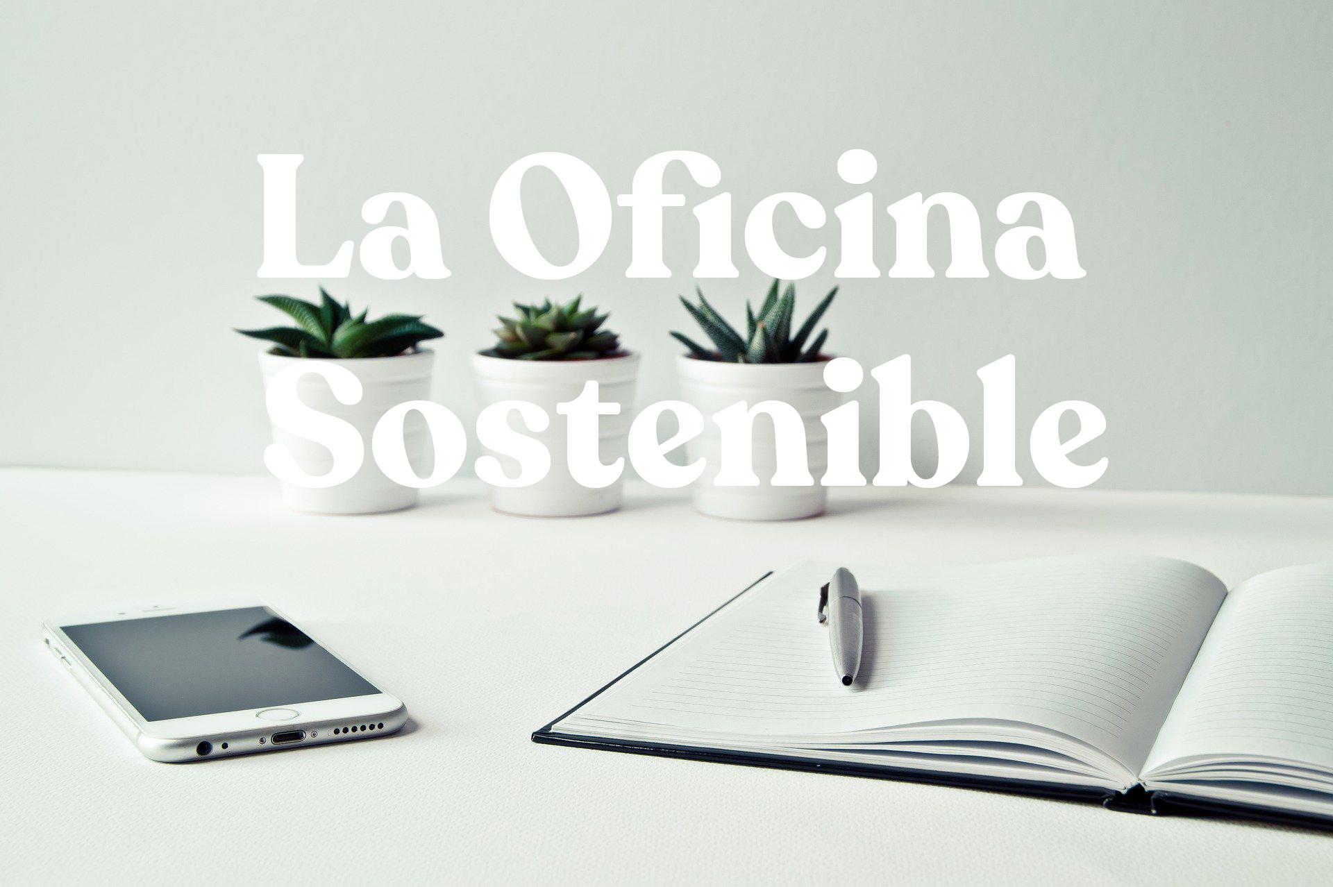 La oficina sostenible: ideas fáciles para mejorar tu espacio de trabajo